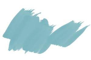 Teal green paint strokes