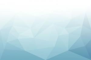 Artful blue triangle pattern